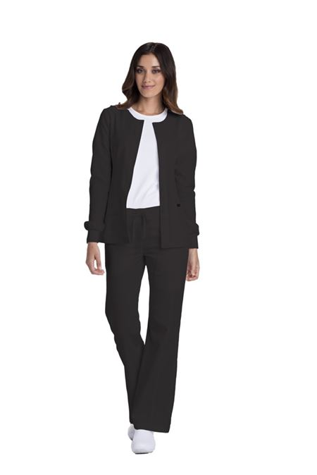Sanibel Stretch-PL300- WarmUp Jackets- Black