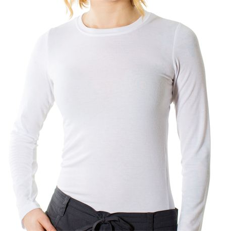 Sanibel Stretch - Women s Long Sleeve Undershirt White : Tees