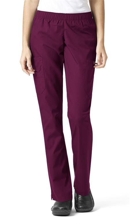 Sanibel Works 1230 Womens Elastic Waist Cargo Pants- Various Colors Available