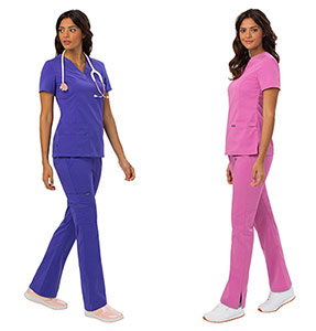 Medical scrubs and work wardrobe