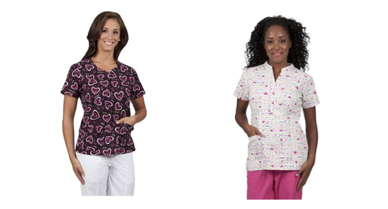 Show Your Support with Medical Scrubs for a Cure